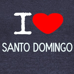 I LOVE SANTO DOMINGO - Women's Wideneck Sweatshirt