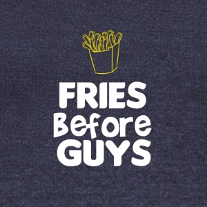 Fries before guys - Women's Wideneck Sweatshirt