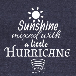 Sunshine mixed with a little Hurricane - Women's Wideneck Sweatshirt