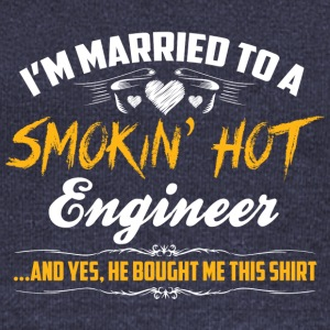 engineer married - Women's Wideneck Sweatshirt