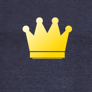 Crown - Gold - Women's Wideneck Sweatshirt