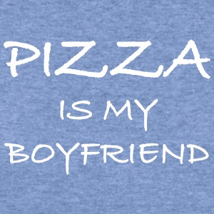 Pizza Is My Boyfriend - Women's Wideneck Sweatshirt