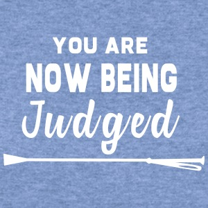 You Are Now Being Judged - Women's Wideneck Sweatshirt