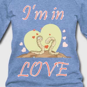 I am in love - Women's Wideneck Sweatshirt