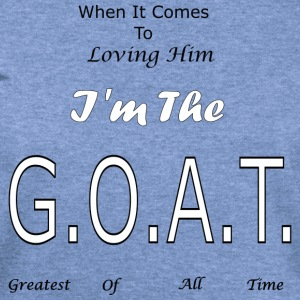 Loving GOAT (Him) - Women's Wideneck Sweatshirt