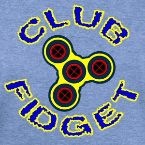 Fidget Spinner - Club Fidget - Women's Wideneck Sweatshirt