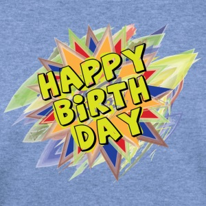 Happy BirthDay - Women's Wideneck Sweatshirt
