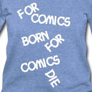 Comic Love - Women's Wideneck Sweatshirt