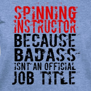 SPINNING INSTRUCTOR BADASS JOB TITLE - Women's Wideneck Sweatshirt
