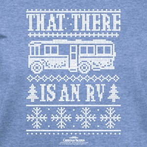 Christmas Vacation RV Faux Sweater T-Shirt - Women's Wideneck Sweatshirt