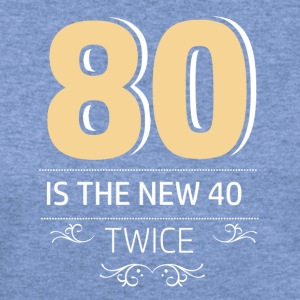 80 years and increasing in value - Women's Wideneck Sweatshirt