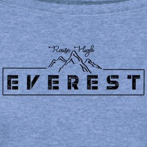 CREATIVE DESIGN || MOUNT EVEREST - Women's Wideneck Sweatshirt