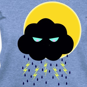 Angry Nimbus under Sun - Women's Wideneck Sweatshirt