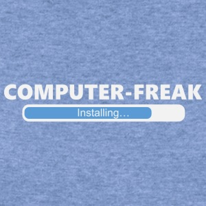 Installing Computer Freak (1011) - Women's Wideneck Sweatshirt