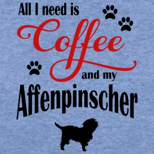 Affenpinscher Coffee - Women's Wideneck Sweatshirt
