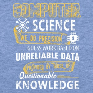 Computer Science Shirt - Women's Wideneck Sweatshirt