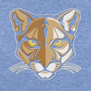 Mountain Lion Shirt - Women's Wideneck Sweatshirt