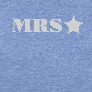 Mrs Police Officer Wife girlfriend Tee Shirt - Women's Wideneck Sweatshirt