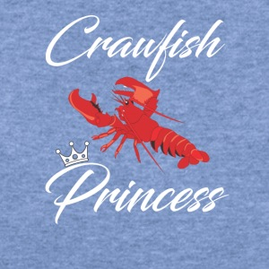 Crawfish Princess T-Shirt - Women's Wideneck Sweatshirt