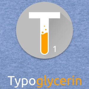 Typoglycerin Logo Ecofriendly T-Shirt - Women's Wideneck Sweatshirt