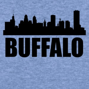 Buffalo NY Skyline - Women's Wideneck Sweatshirt
