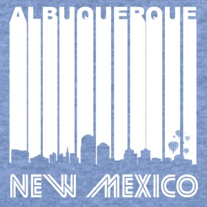 Retro Albuquerque Skyline - Women's Wideneck Sweatshirt