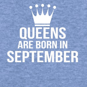 queens are born in september - Women's Wideneck Sweatshirt