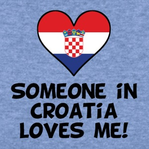 Someone In Croatia Loves Me - Women's Wideneck Sweatshirt
