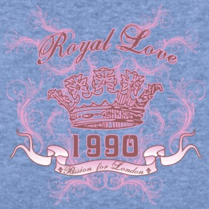 royal love - Women's Wideneck Sweatshirt