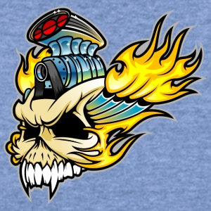 Engine_skull - Women's Wideneck Sweatshirt