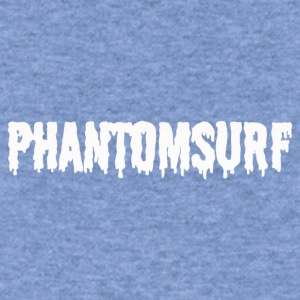 Phantomsurf white sludge logo - Women's Wideneck Sweatshirt