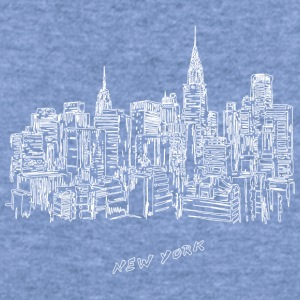 New York City - United States - Women's Wideneck Sweatshirt