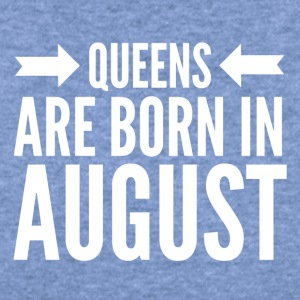 Queens Born August - Women's Wideneck Sweatshirt