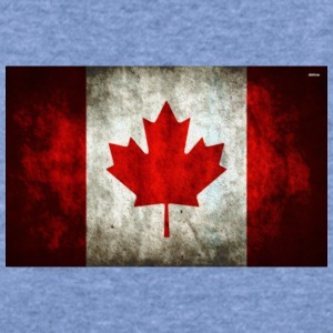 canada flag grunge - Women's Wideneck Sweatshirt