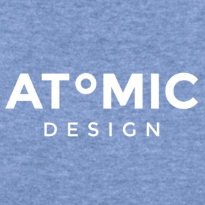 Atomic Brand White logo - Women's Wideneck Sweatshirt