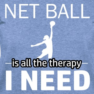 Netball is my therapy - Women's Wideneck Sweatshirt