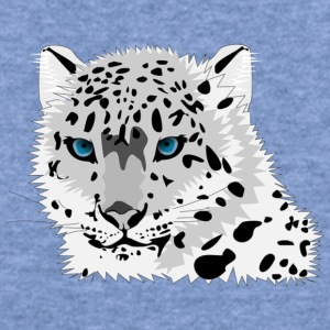 animal snow leopard - Women's Wideneck Sweatshirt