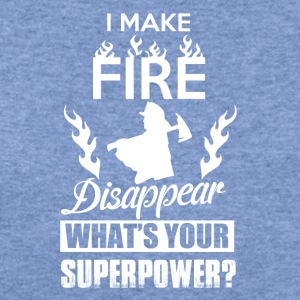 I make fire disappear, what's your superpower? - Women's Wideneck Sweatshirt
