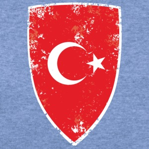 Flag of Turkey - Women's Wideneck Sweatshirt