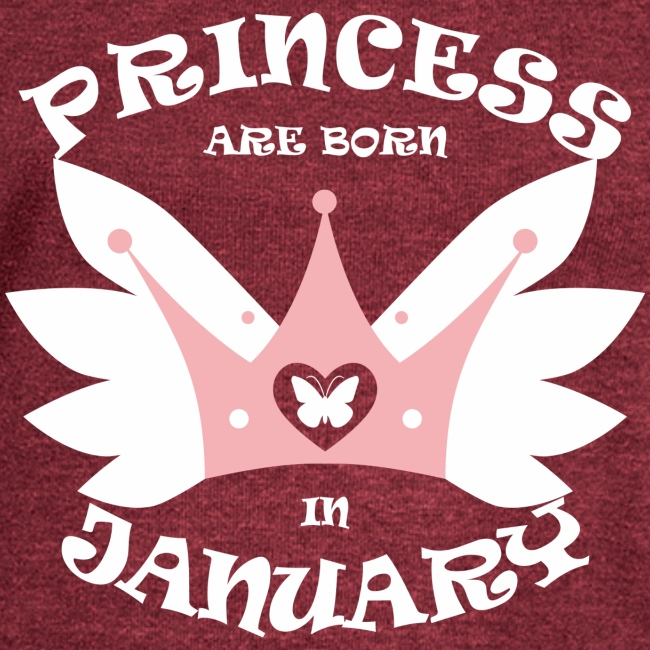Princess Are Born In January
