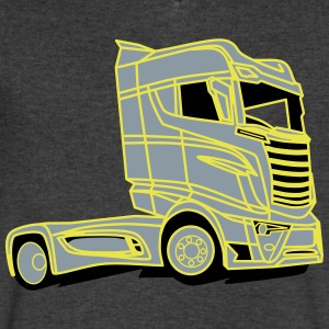 Vehicle - Men's V-Neck T-Shirt by Canvas