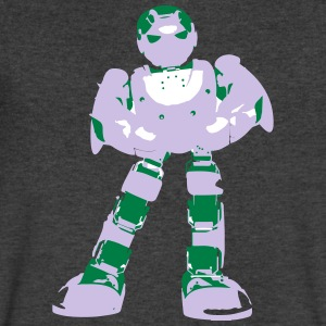 ROBOT - Men's V-Neck T-Shirt by Canvas