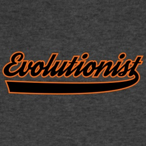 Evolutionist - Men's V-Neck T-Shirt by Canvas
