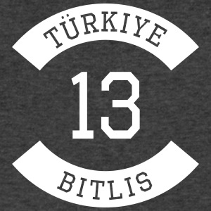 turkiye 13 - Men's V-Neck T-Shirt by Canvas