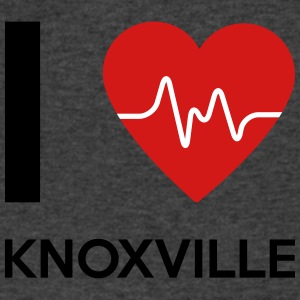 I Love Knoxville - Men's V-Neck T-Shirt by Canvas