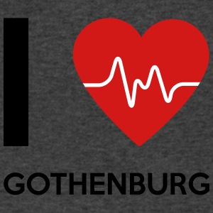 I Love Gothenburg - Men's V-Neck T-Shirt by Canvas