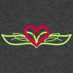 Designer Heart - Men's V-Neck T-Shirt by Canvas