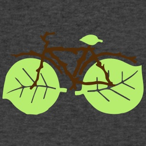 nature bicycle - Men's V-Neck T-Shirt by Canvas
