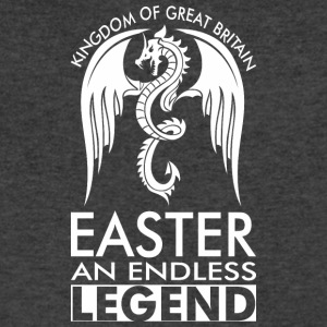 Kingdom Of Great Britain Easter An Endless Legend - Men's V-Neck T-Shirt by Canvas