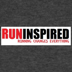 RUNINSPIRED - Men's V-Neck T-Shirt by Canvas